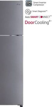 LG 260 L Frost Free Double Door 4 Star Refrigerator
